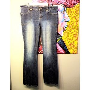 Daisy Fuentes Bootcut Jeans Size 14